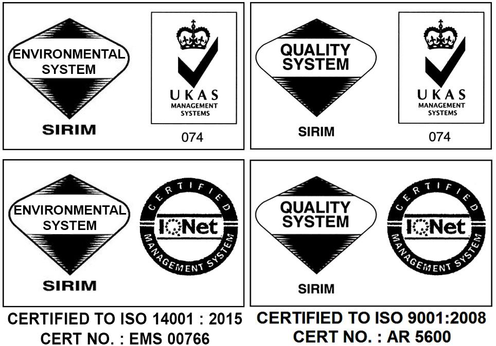Logo Iso14001 2015 Substation Malaysia