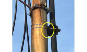 Pole Adapter for Cable Cleat
