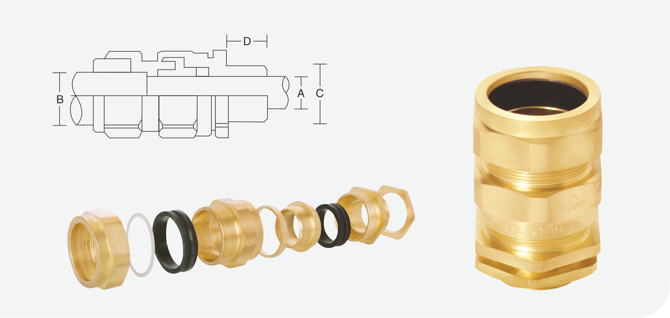 """Brass Cable Glands """"CW4PT"""" Application (1)"""