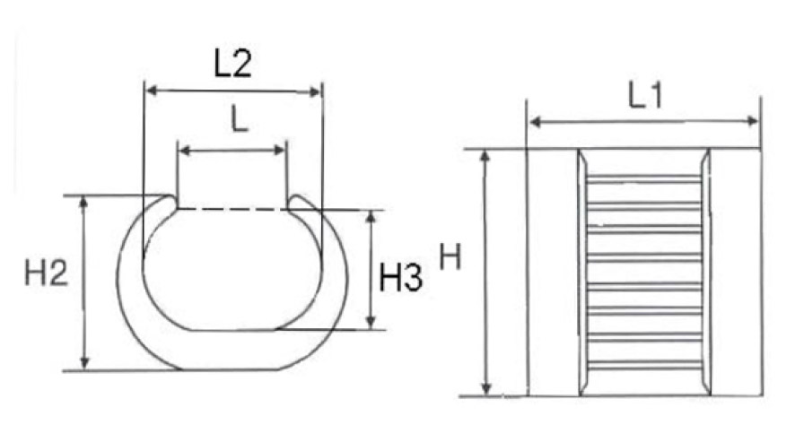 C Connector Clamp (3)