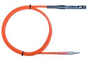 2. DSSB-SLE-PEE-50EL - 50 mmsq Orange colour Aluflex Leads