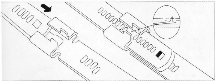 Ladder Stainless Steel Cable Ties illustration (3)