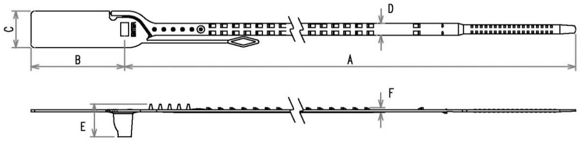 Security Seal Prime Lock dimensions (1)