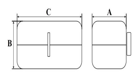 V-LPLO & V-SPLO dimensions(1)